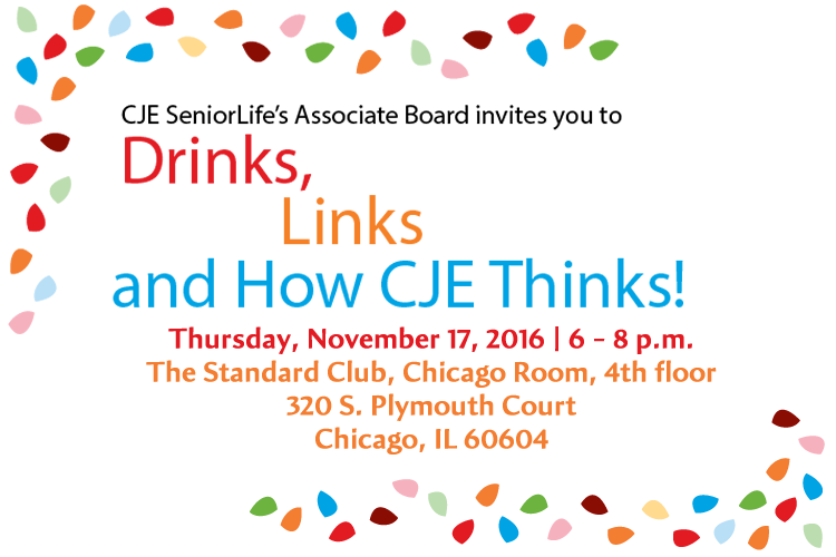 Drinks, Links and How CJE Thinks - Associate Board Event