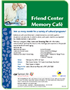Friend Center Memory Cafe