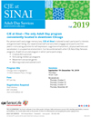 ADS Sinai Fall 2019 Schedule