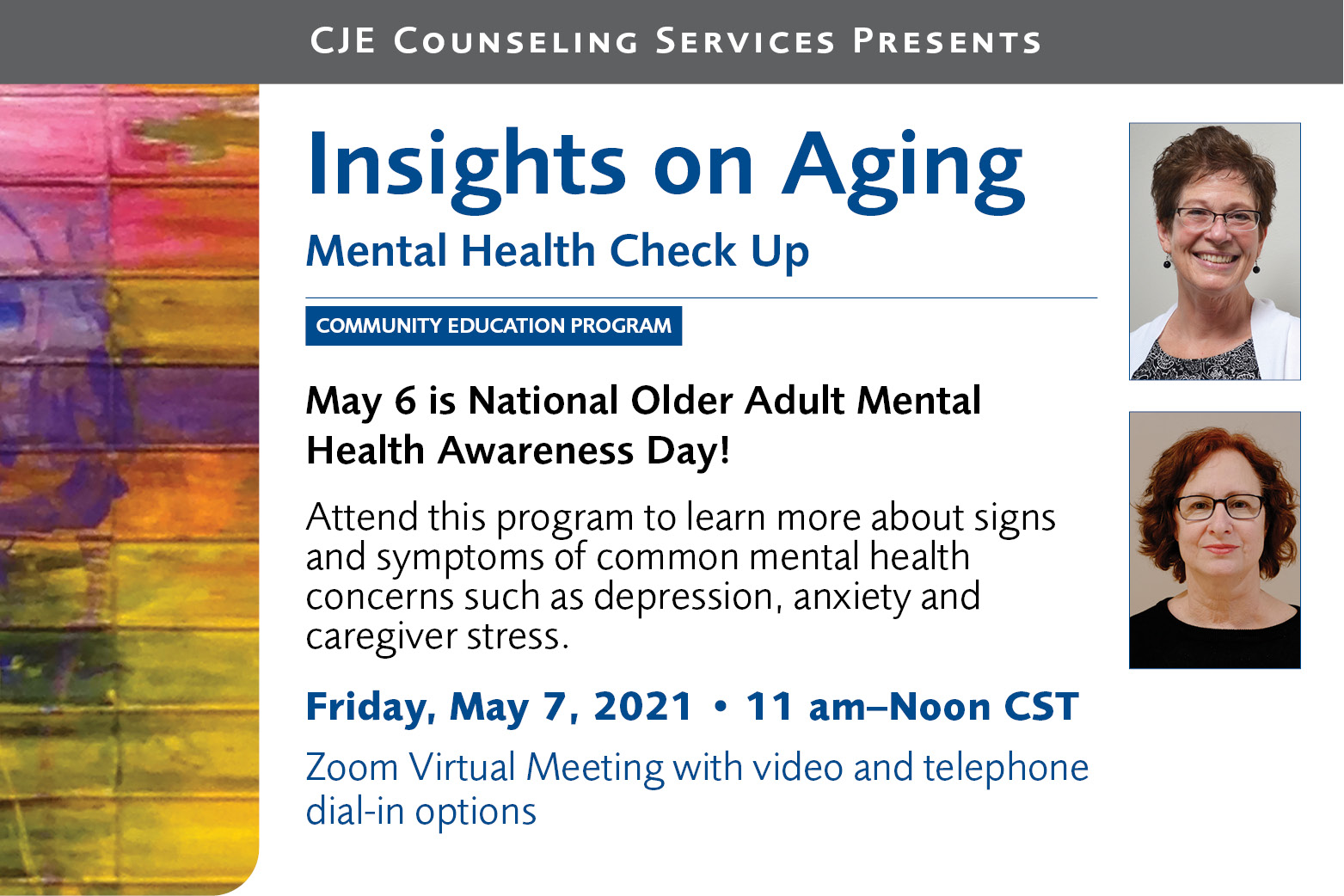 Insights on Aging Mental Health Check Up