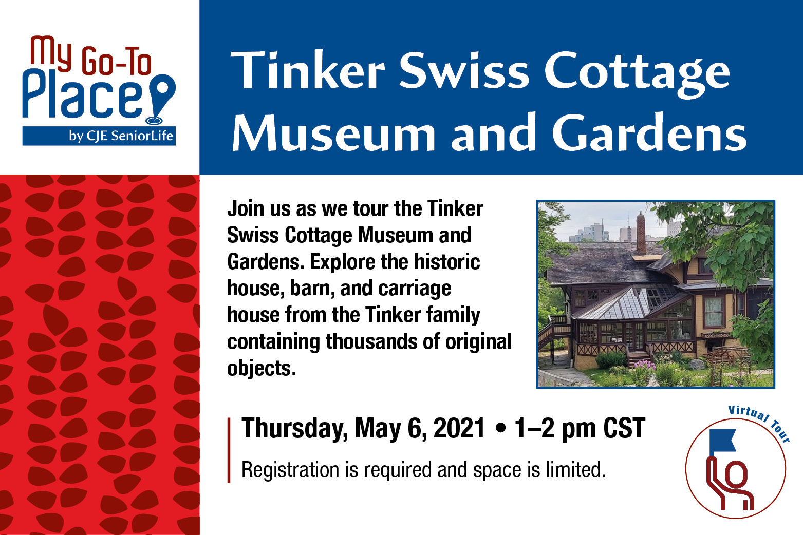 Tinker Swiss Cottage Museum and Gardens