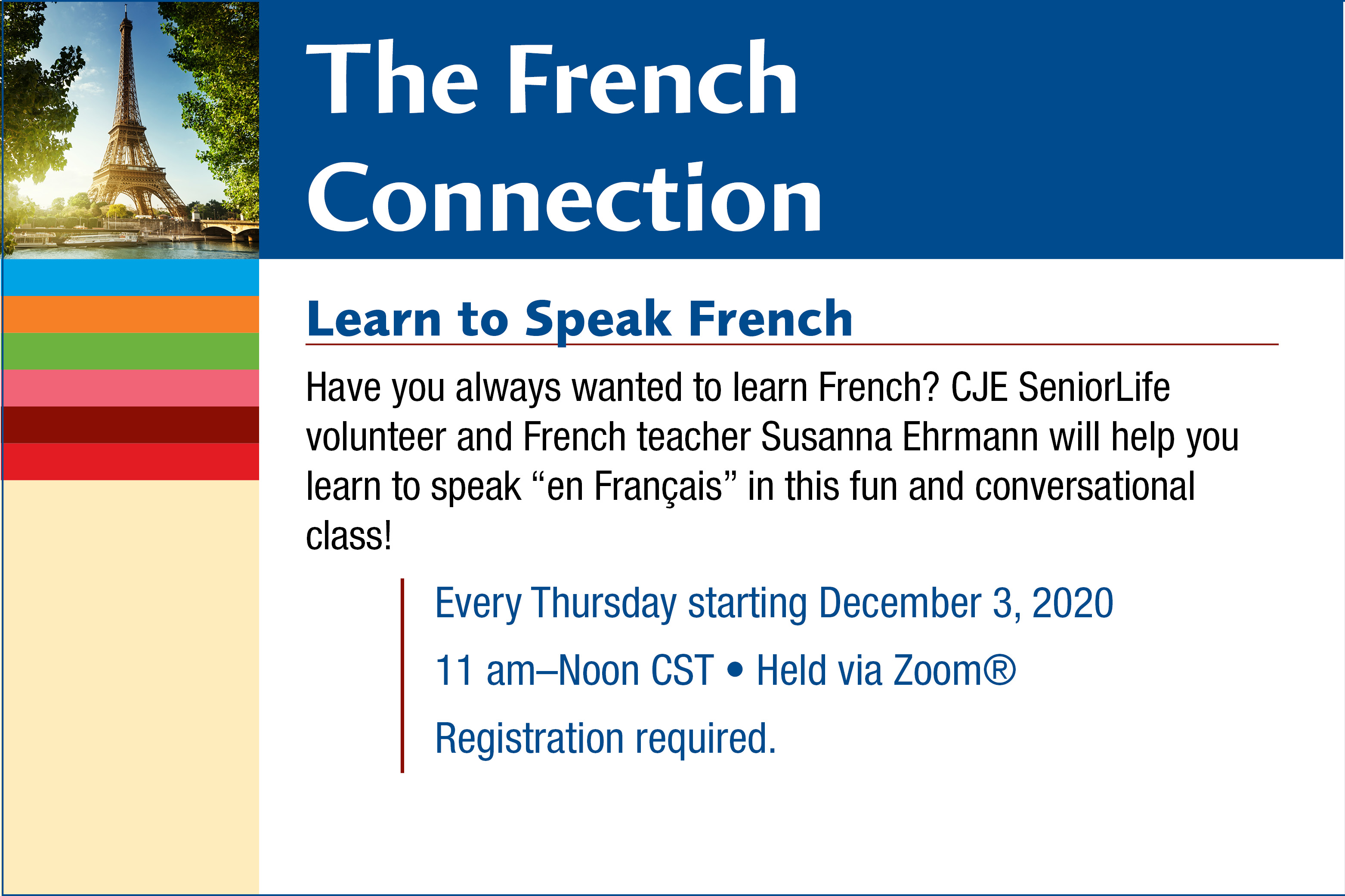 Learn to Speak French with Susanna Ehrmann