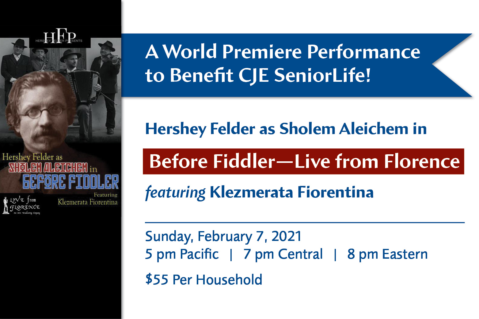 Before Fiddler A World Premiere Performance