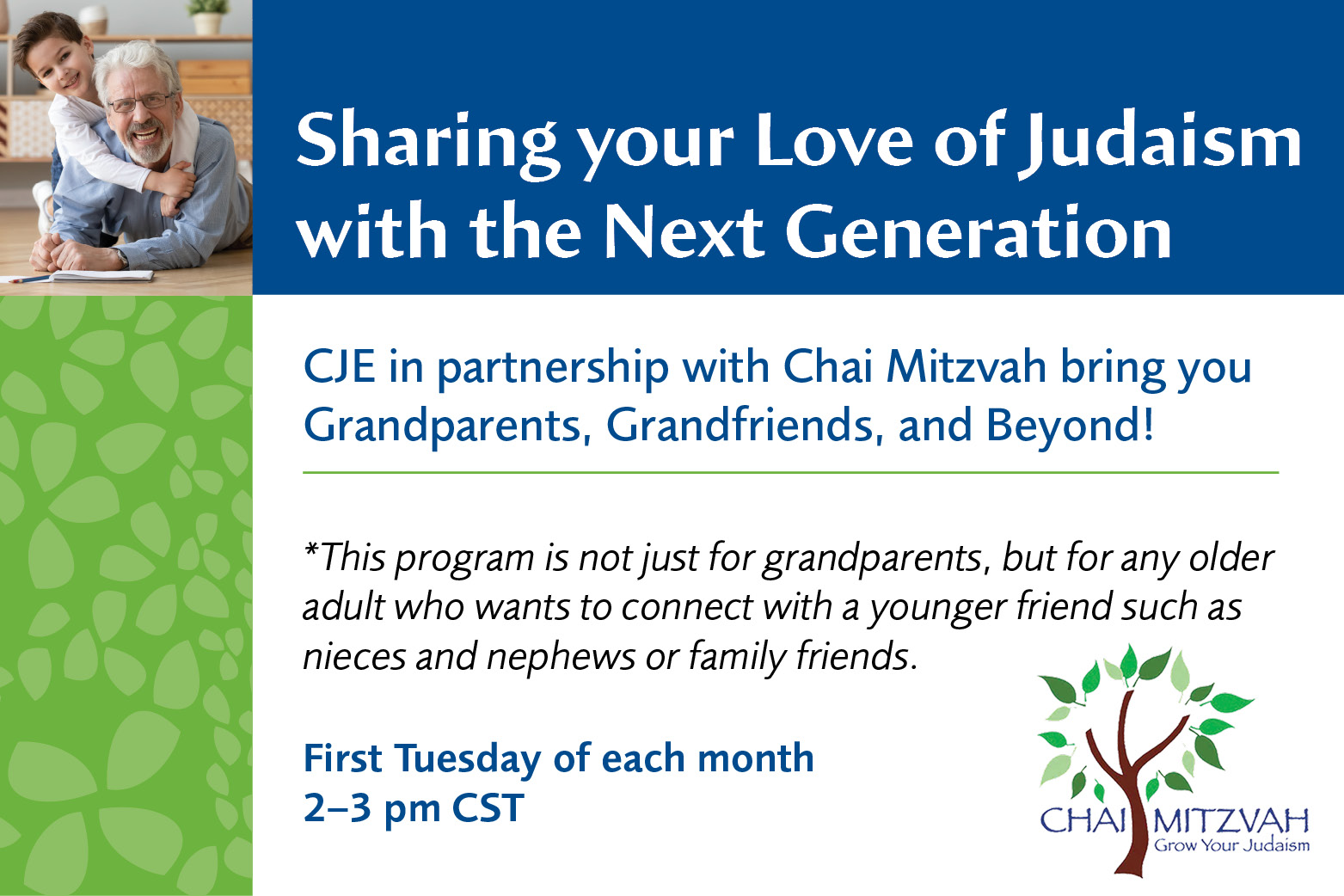 Grandparents, Grandfriends, and Beyond!