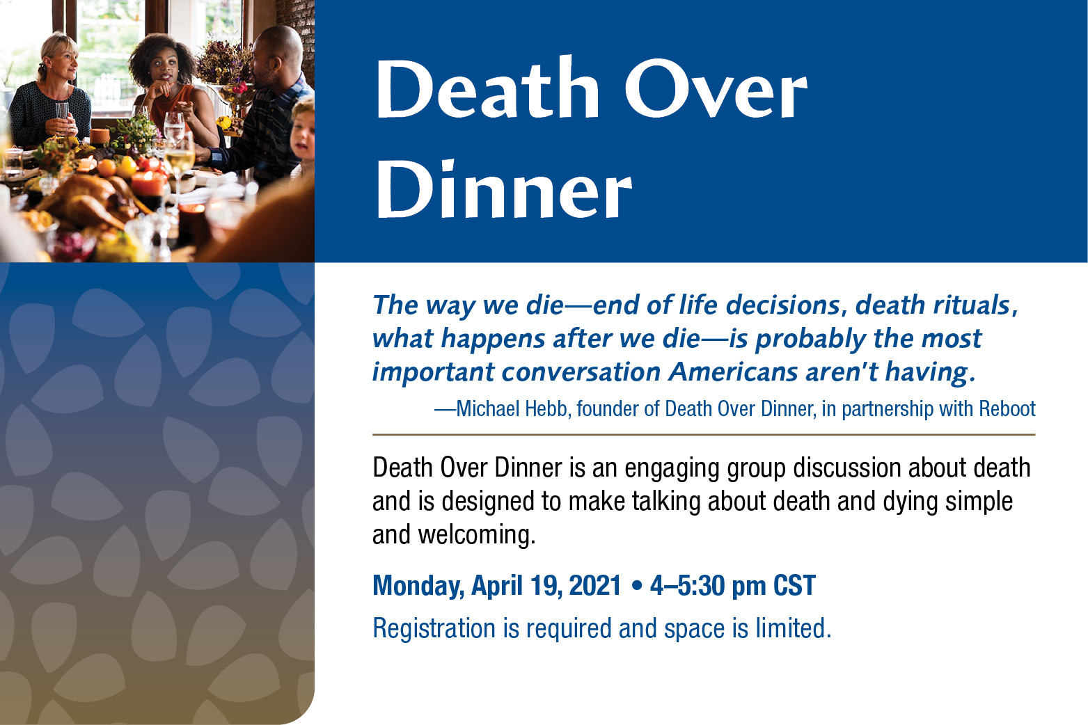 Death Over Dinner event