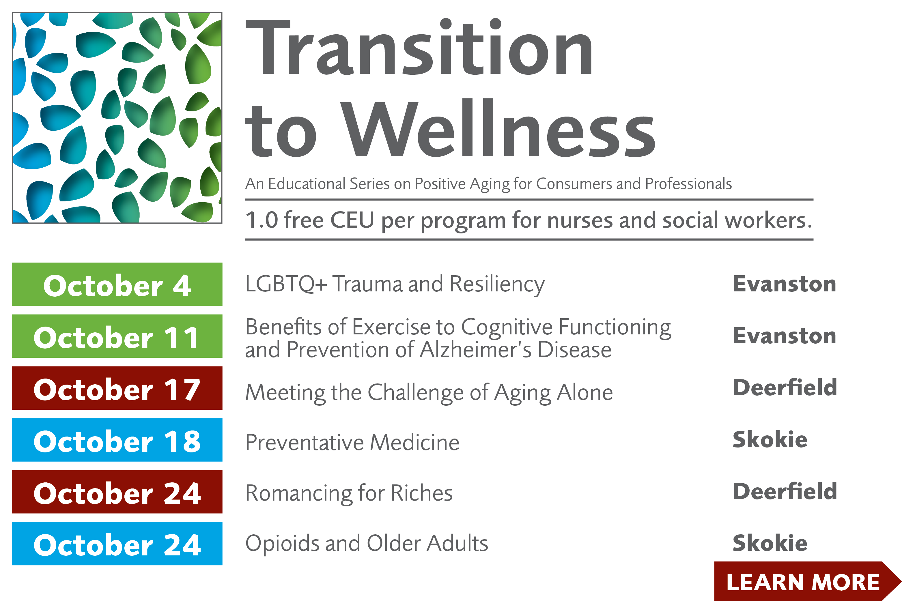 Transition to Wellness 2018