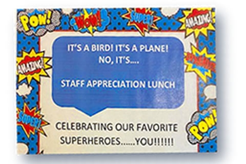 Superheroes Celebrated at Lieberman
