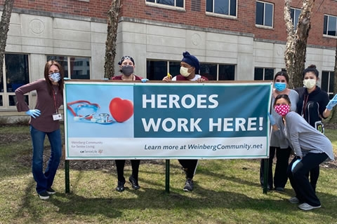 Weinberg Community Touts its Superheroes!
