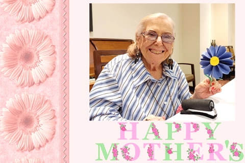 "Weinberg Says ""Happy Mother's Day"" with Flowers"