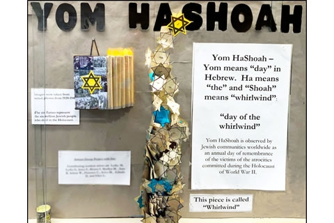 Soulful Yom Hashoah Creations by Enriched Lieberman Residents