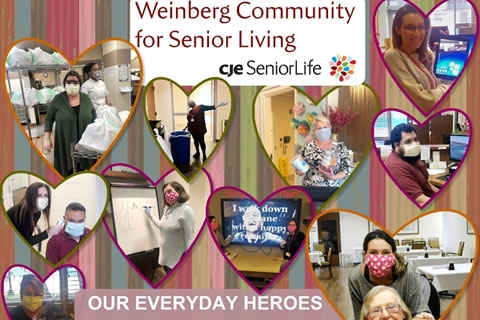 Recognizing the Many Heroes at Weinberg Community
