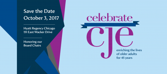 Celebrate CJE 2017 Save the Date Home Page