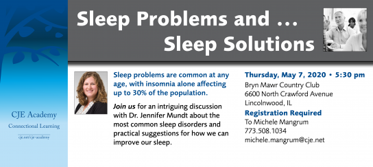 Sleep Problems and ...Sleep Solutions