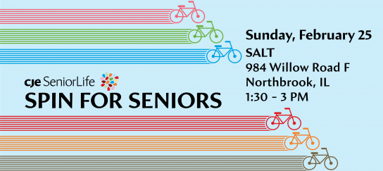 Spin class for seniors- Northbrook