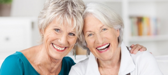 Elderly Female Gay Couple