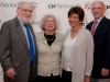 Carol and Alan Greene, CJE Board Member and Former Chair, and Barbara and Dennis Kessler
