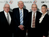 CJE Board Members Leonard A. Worsek, Robert L. Schlossberg, Alan Greene, and Barbara A. Gilbert.