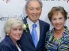 Lois Zoller, James C. (Jim) Mills, Honoree with Rep. Jan Schakowsky.