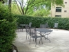 Common area patio at Swartzberg House