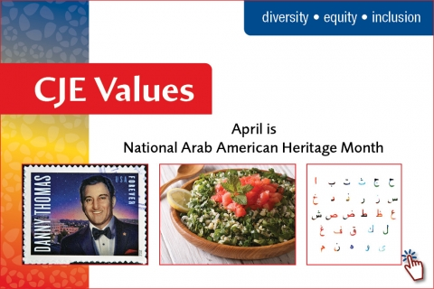 April marks National Arab American Heritage Month.