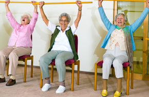 Stay Fit: Exercise Classes - Chair