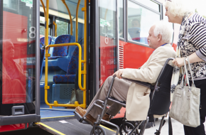 Using Accessible Public Transportation