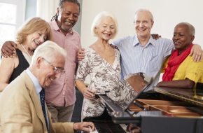 Friend Center Memory Café⁠—Musical Therapy with Rebecca J. Froman Freiman