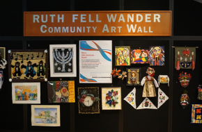 In honor of Older Americans Month, First Bank of Highland Park has selected CJE SeniorLife's Weinberg Community for Senior Living as their featured Ruth Fell Wander Community Art Wall exhibitor for the month of May!