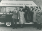 First Bus Donated by Chicago Women's Aid